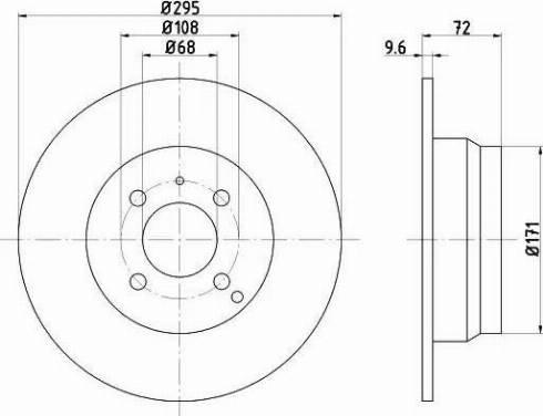 Textar 92058700 - Bremžu diski interparts.lv