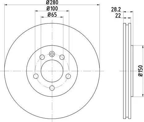 Textar 92057100 - Bremžu diski interparts.lv