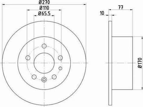 Textar 92066300 - Bremžu diski interparts.lv