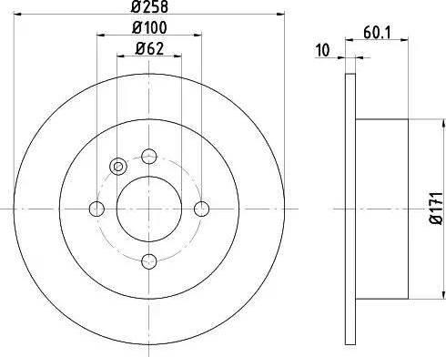 Textar 92019200 - Bremžu diski interparts.lv