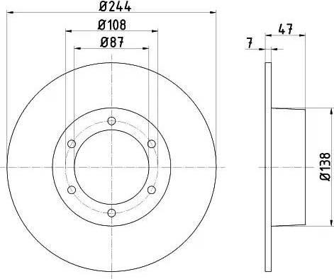 Textar 92014400 - Bremžu diski interparts.lv
