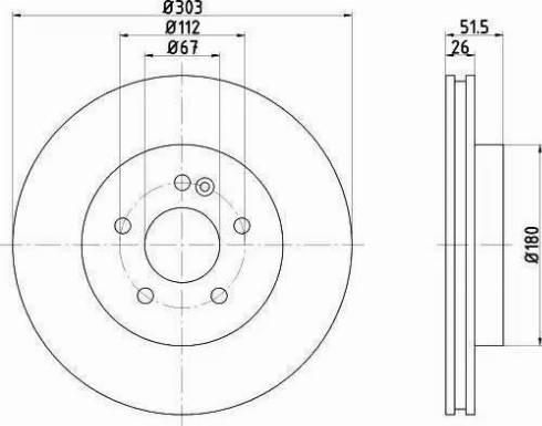 Textar 92089905 - Bremžu diski interparts.lv
