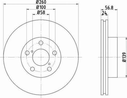 Textar 92081900 - Bremžu diski interparts.lv