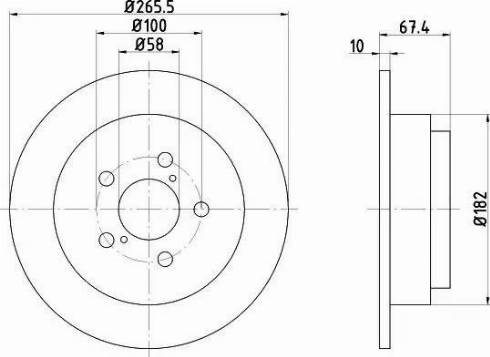 Textar 92082000 - Bremžu diski interparts.lv