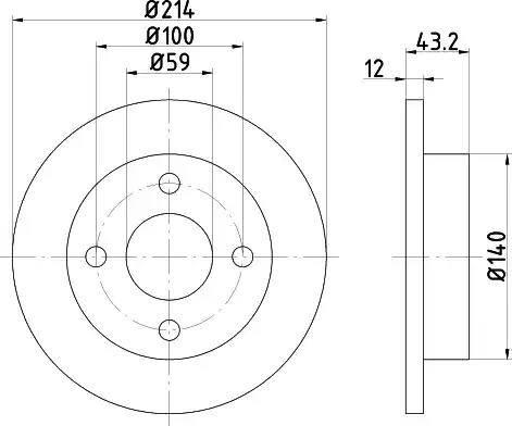 Textar 92035100 - Bremžu diski interparts.lv