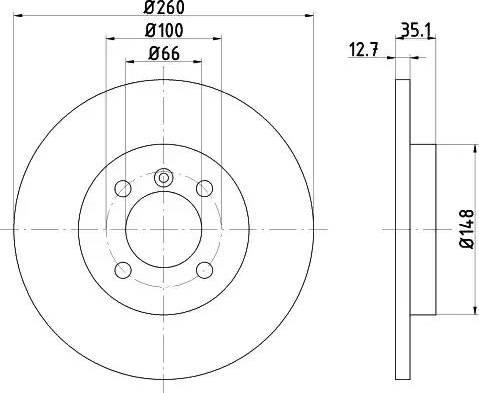 Textar 92026400 - Bremžu diski interparts.lv