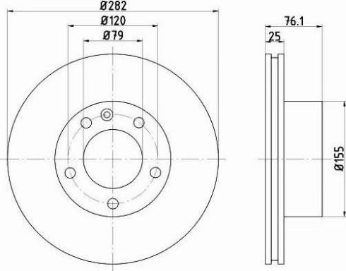Textar 92026700 - Bremžu diski interparts.lv