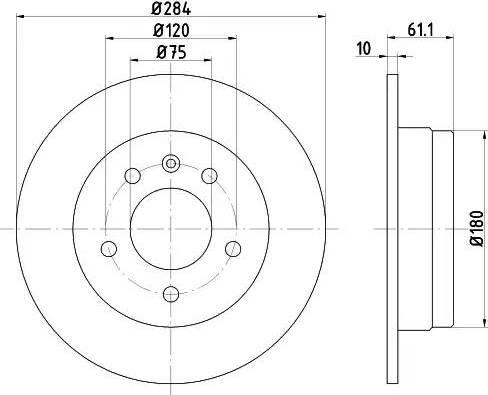 Textar 92022400 - Bremžu diski interparts.lv