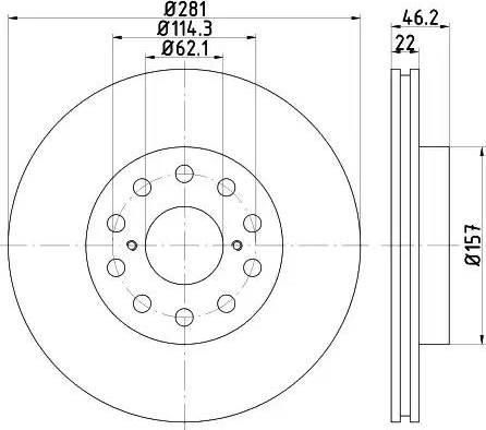 Textar 92149600 - Bremžu diski interparts.lv