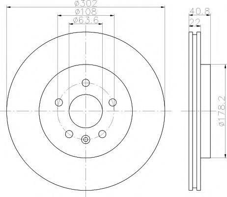Textar 92168305 - Bremžu diski interparts.lv