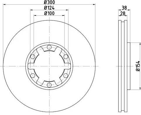 Textar 92109500 - Bremžu diski interparts.lv