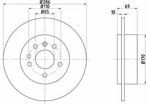 Textar 92100200 - Bremžu diski interparts.lv