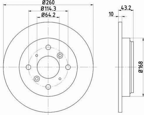 Textar 92114300 - Bremžu diski interparts.lv