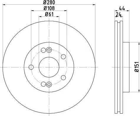 Textar 92113803 - Bremžu diski interparts.lv
