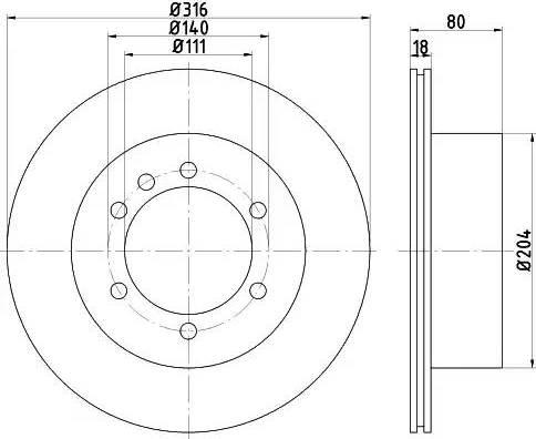 Textar 92129900 - Bremžu diski interparts.lv