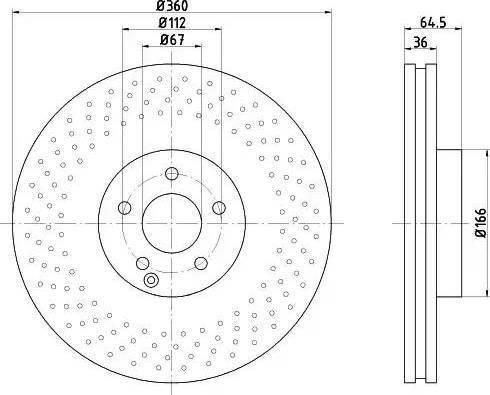 Textar 92120305 - Bremžu diski interparts.lv