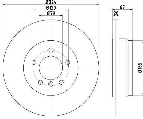 Textar 92123103 - Bremžu diski interparts.lv