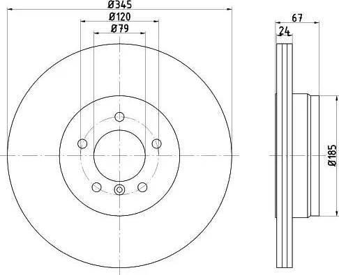 Textar 92123203 - Bremžu diski interparts.lv