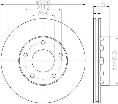 Textar 92174205 - Bremžu diski interparts.lv