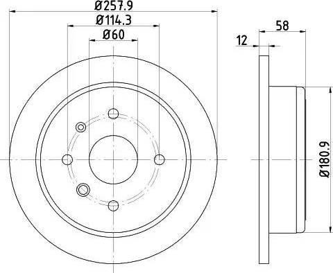 Textar 92269903 - Bremžu diski interparts.lv