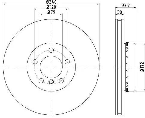 Textar 92264925 - Bremžu diski interparts.lv
