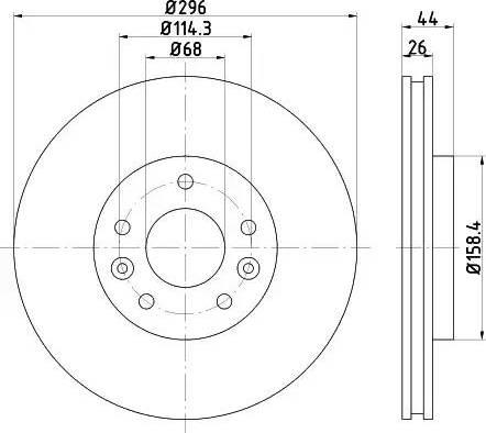 Textar 92274203 - Bremžu diski interparts.lv