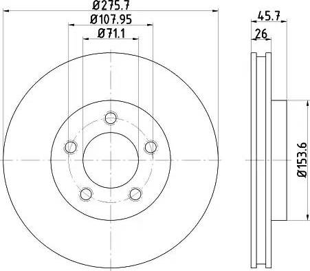 Textar 92270403 - Bremžu diski interparts.lv