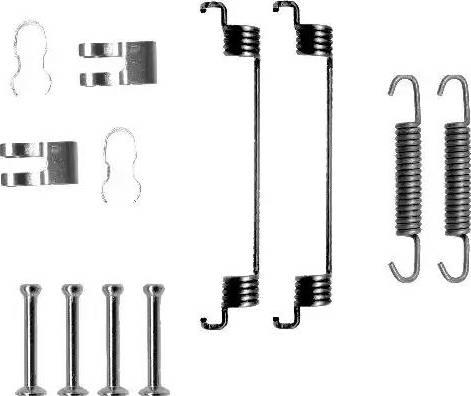 Textar 97014900 - Piederumu komplekts, Bremžu loki interparts.lv