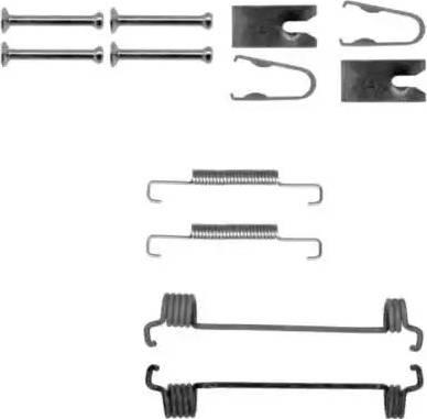 Textar 97035900 - Piederumu komplekts, Stāvbremzes mehānisma bremžu loks interparts.lv