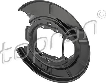 Topran 5033 51 - Dubļu sargs, Bremžu disks interparts.lv