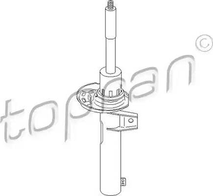 Topran 110 158 - Amortizators interparts.lv