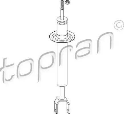 Topran 110 157 - Amortizators interparts.lv