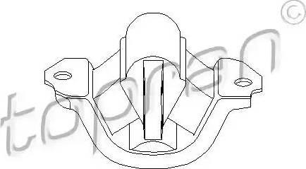 Topran 201 369 - Kronšteins, Motora stiprinājums interparts.lv