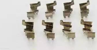 Triscan 8105 411608 - Piederumu komplekts, Disku bremžu uzlikas interparts.lv
