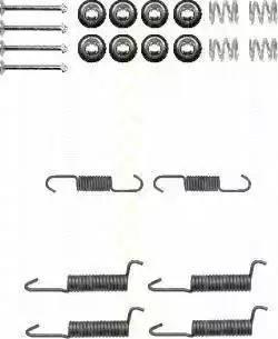 Triscan 8105 422587 - Piederumu komplekts, Stāvbremzes mehānisma bremžu loks interparts.lv