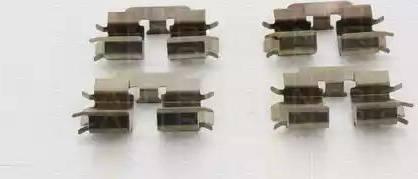 Triscan 8105 141607 - Piederumu komplekts, Disku bremžu uzlikas interparts.lv