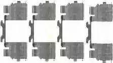 Triscan 8105 101648 - Piederumu komplekts, Disku bremžu uzlikas interparts.lv