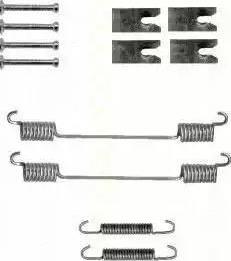 Triscan 8105 102601 - Piederumu komplekts, Bremžu loki interparts.lv