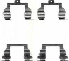 Triscan 8105 131632 - Piederumu komplekts, Disku bremžu uzlikas interparts.lv