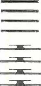 Triscan 8105 241510 - Piederumu komplekts, Disku bremžu uzlikas interparts.lv