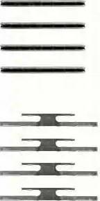 Triscan 8105 241309 - Piederumu komplekts, Disku bremžu uzlikas interparts.lv