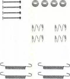 Triscan 8105 242570 - Piederumu komplekts, Stāvbremzes mehānisma bremžu loks interparts.lv