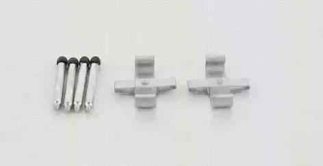 Triscan 8105 231581 - Piederumu komplekts, Disku bremžu uzlikas interparts.lv