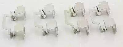 Triscan 8105 231608 - Piederumu komplekts, Disku bremžu uzlikas interparts.lv