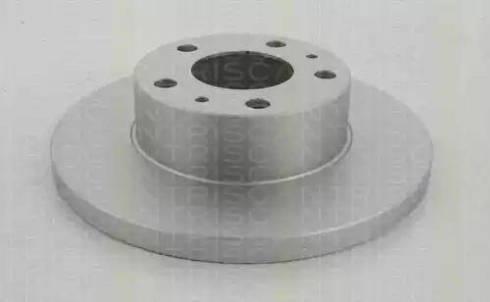 Triscan 8120 10139C - Bremžu diski interparts.lv