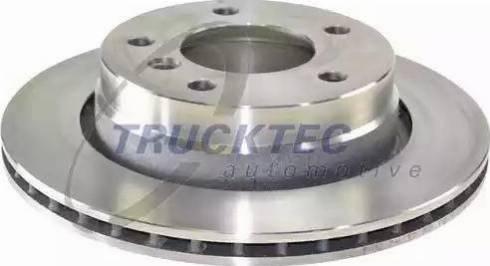 Trucktec Automotive 08.34.045 - Bremžu diski interparts.lv