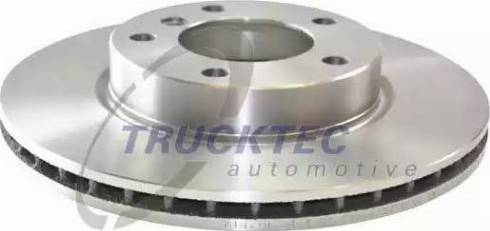 Trucktec Automotive 08.34.031 - Bremžu diski interparts.lv
