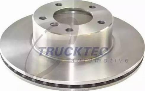 Trucktec Automotive 08.34.021 - Bremžu diski interparts.lv