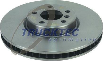 Trucktec Automotive 08.34.144 - Bremžu diski interparts.lv