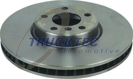 Trucktec Automotive 08.34.143 - Bremžu diski interparts.lv